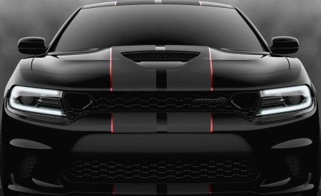 2019 Dodge Charger SRT Hellcat Octane Edition (Color: Pitch Black) Front Wallpapers 450x275 (9)