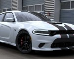 2019 Dodge Charger SRT Hellcat Octane Edition (Color: White Knuckle) Front Three-Quarter Wallpapers 150x120 (2)