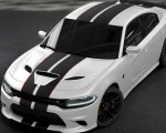 2019 Dodge Charger SRT Hellcat Octane Edition (Color: White Knuckle) Front Three-Quarter Wallpapers 150x120 (3)