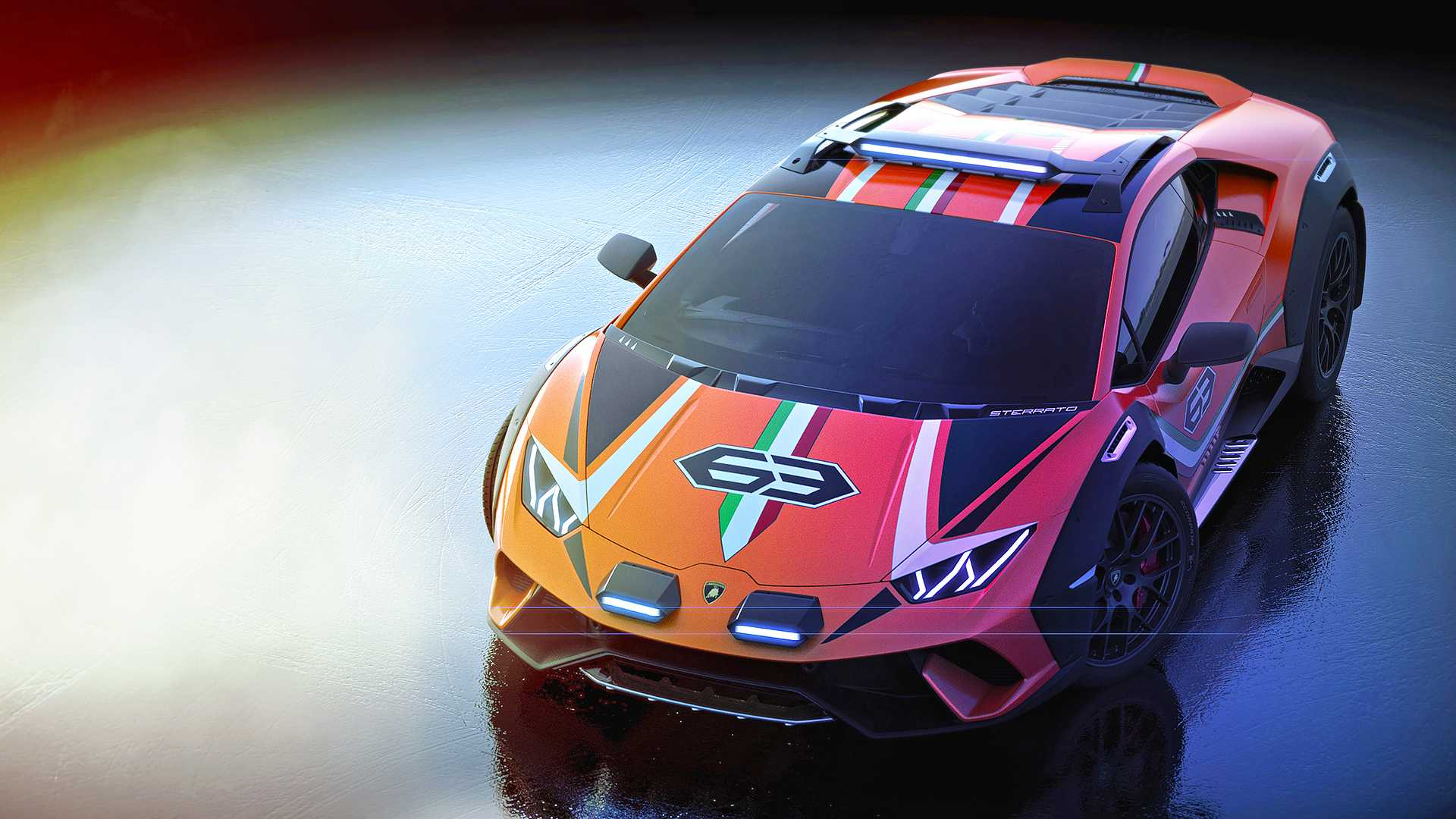 2019 Lamborghini Huracán Sterrato Concept Front Wallpapers #4 of 7
