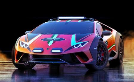 2019 Lamborghini Huracán Sterrato Concept Front Wallpapers 450x275 (5)