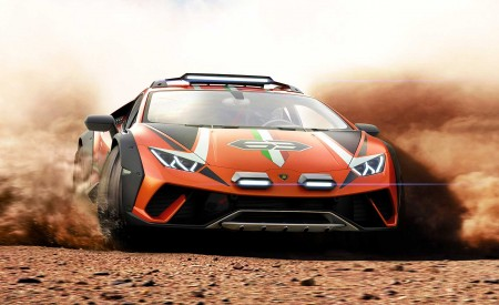2019 Lamborghini Huracán Sterrato Concept Wallpapers HD