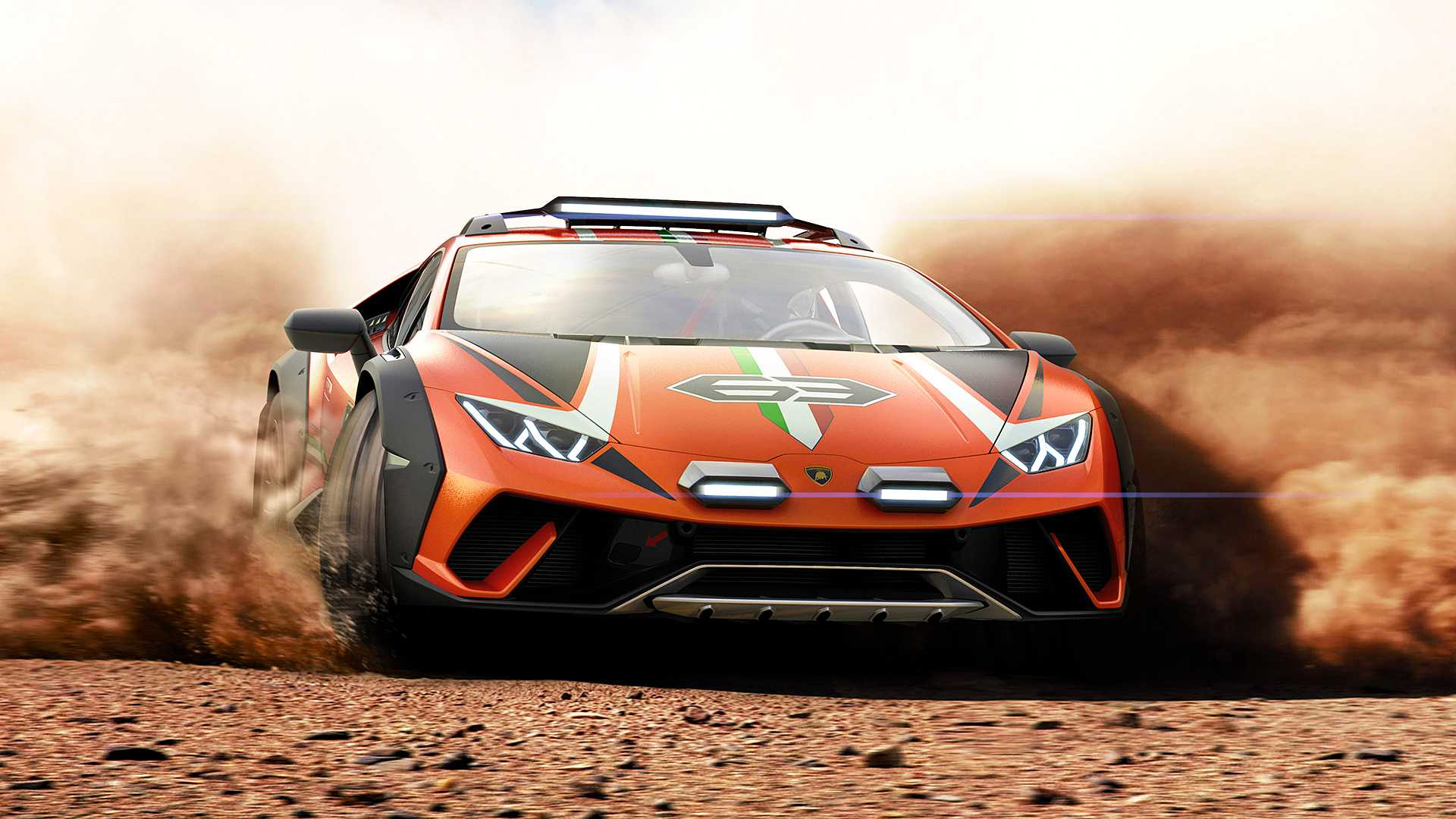 2019 Lamborghini Huracán Sterrato Concept Off-Road Wallpapers (1)