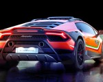 2019 Lamborghini Huracán Sterrato Concept Rear Wallpapers 150x120