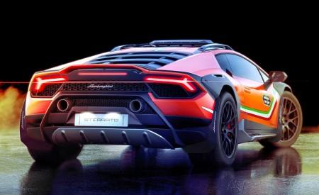 2019 Lamborghini Huracán Sterrato Concept Rear Wallpapers 450x275 (6)