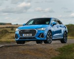 2020 Audi Q3 Sportback 45 TFSI quattro (UK-Spec) Front Three-Quarter Wallpapers 150x120 (12)