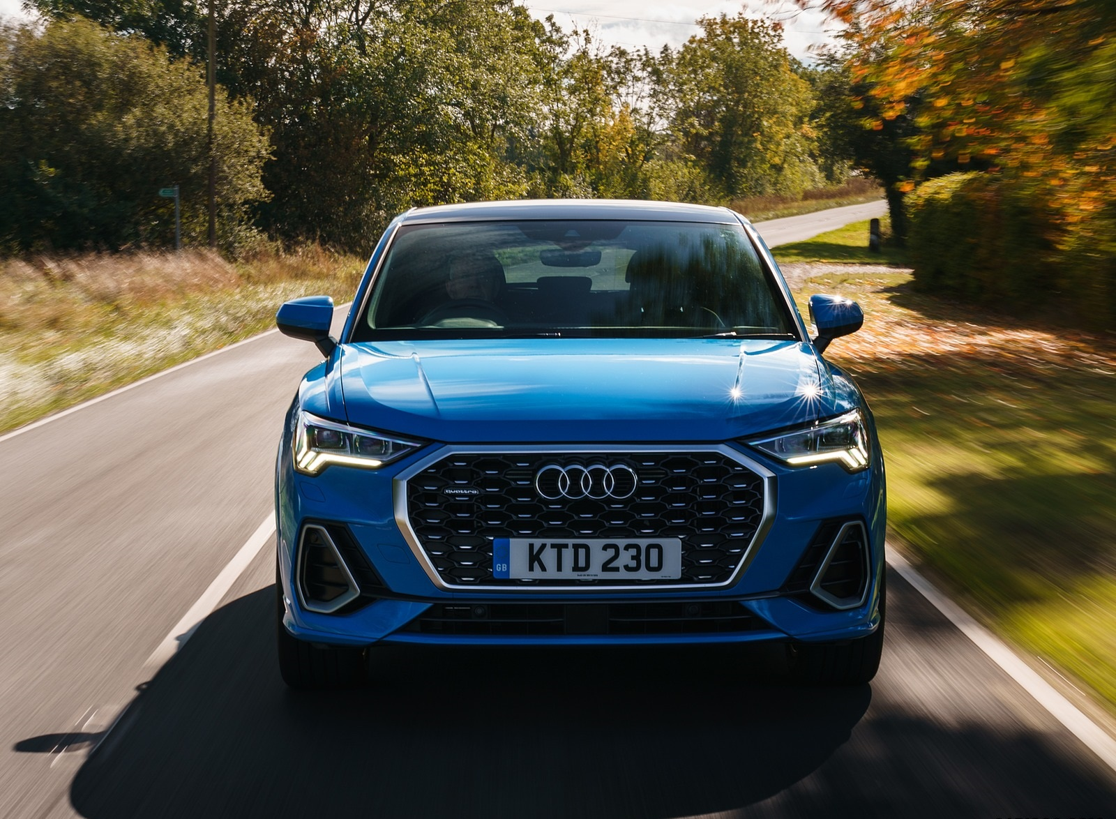 2020 Audi Q3 Sportback 45 TFSI quattro (UK-Spec) Front Wallpapers (7)