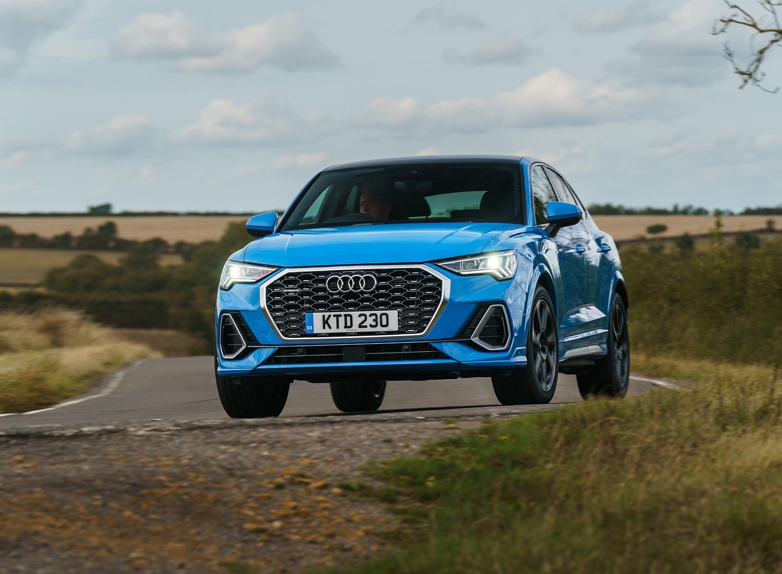 2020 Audi Q3 Sportback 45 TFSI quattro (UK-Spec) Front Wallpapers (15)