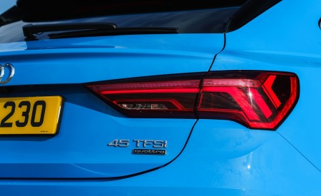 2020 Audi Q3 Sportback 45 TFSI quattro (UK-Spec) Tail Light Wallpapers 450x275 (75)