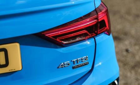 2020 Audi Q3 Sportback 45 TFSI quattro (UK-Spec) Tail Light Wallpapers 450x275 (77)