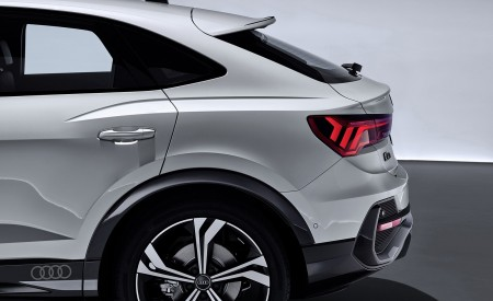 2020 Audi Q3 Sportback S line (Color: Dew Silver) Detail Wallpapers 450x275 (158)