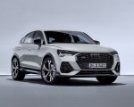 2020 Audi Q3 Sportback S line (Color: Dew Silver) Front Three-Quarter Wallpapers 150x120 (29)