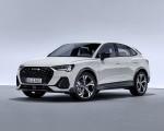 2020 Audi Q3 Sportback S line (Color: Dew Silver) Front Three-Quarter Wallpapers 150x120 (30)