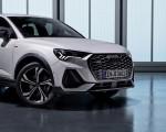 2020 Audi Q3 Sportback S line (Color: Dew Silver) Front Wallpapers 150x120 (45)