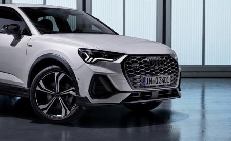 2020 Audi Q3 Sportback S line (Color: Dew Silver) Front Wallpapers 450x275 (157)