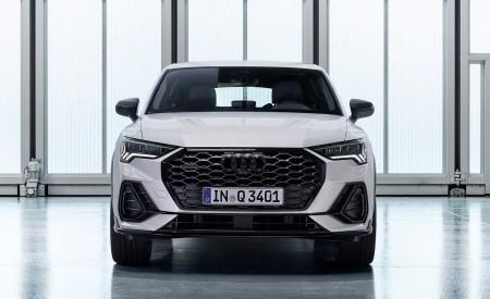 2020 Audi Q3 Sportback S line (Color: Dew Silver) Front Wallpapers 450x275 (146)