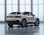 2020 Audi Q3 Sportback S line (Color: Dew Silver) Rear Three-Quarter Wallpapers 150x120 (35)