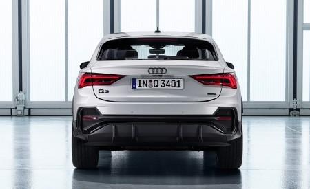 2020 Audi Q3 Sportback S line (Color: Dew Silver) Rear Wallpapers 450x275 (150)