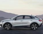2020 Audi Q3 Sportback S line (Color: Dew Silver) Side Wallpapers 150x120 (28)