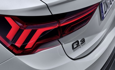 2020 Audi Q3 Sportback S line (Color: Dew Silver) Tail Light Wallpapers 450x275 (153)