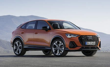 2020 Audi Q3 Sportback S line (Color: Pulse Orange) Front Three-Quarter Wallpapers 450x275 (116)