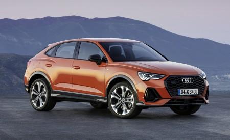 2020 Audi Q3 Sportback S line (Color: Pulse Orange) Front Three-Quarter Wallpapers 450x275 (117)