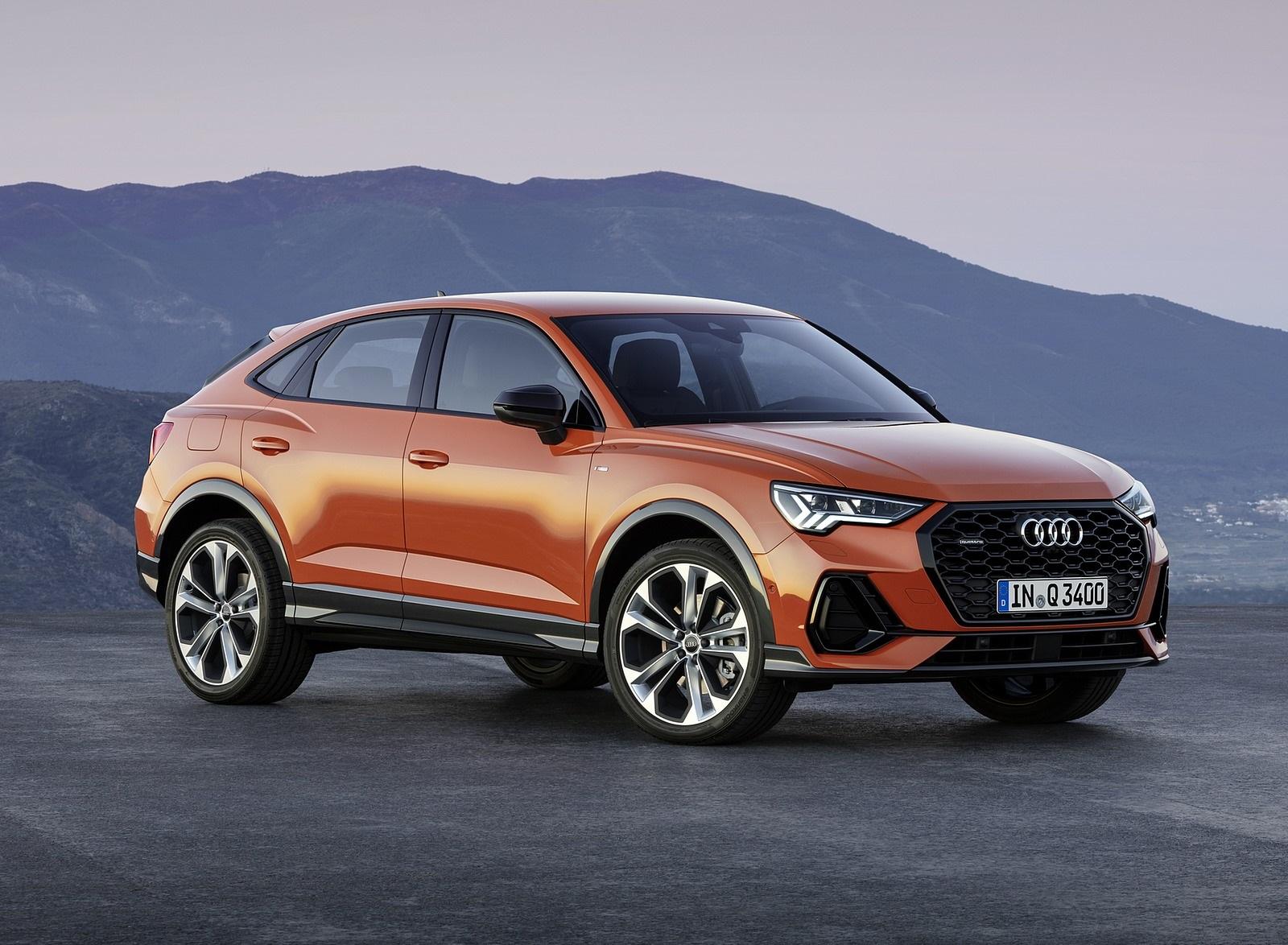 2020 Audi Q3 Sportback S line (Color: Pulse Orange) Front Three-Quarter Wallpapers (5)