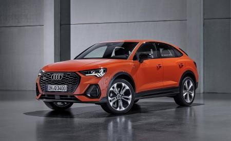 2020 Audi Q3 Sportback S line (Color: Pulse Orange) Front Three-Quarter Wallpapers 450x275 (128)