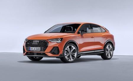 2020 Audi Q3 Sportback S line (Color: Pulse Orange) Front Three-Quarter Wallpapers 450x275 (121)