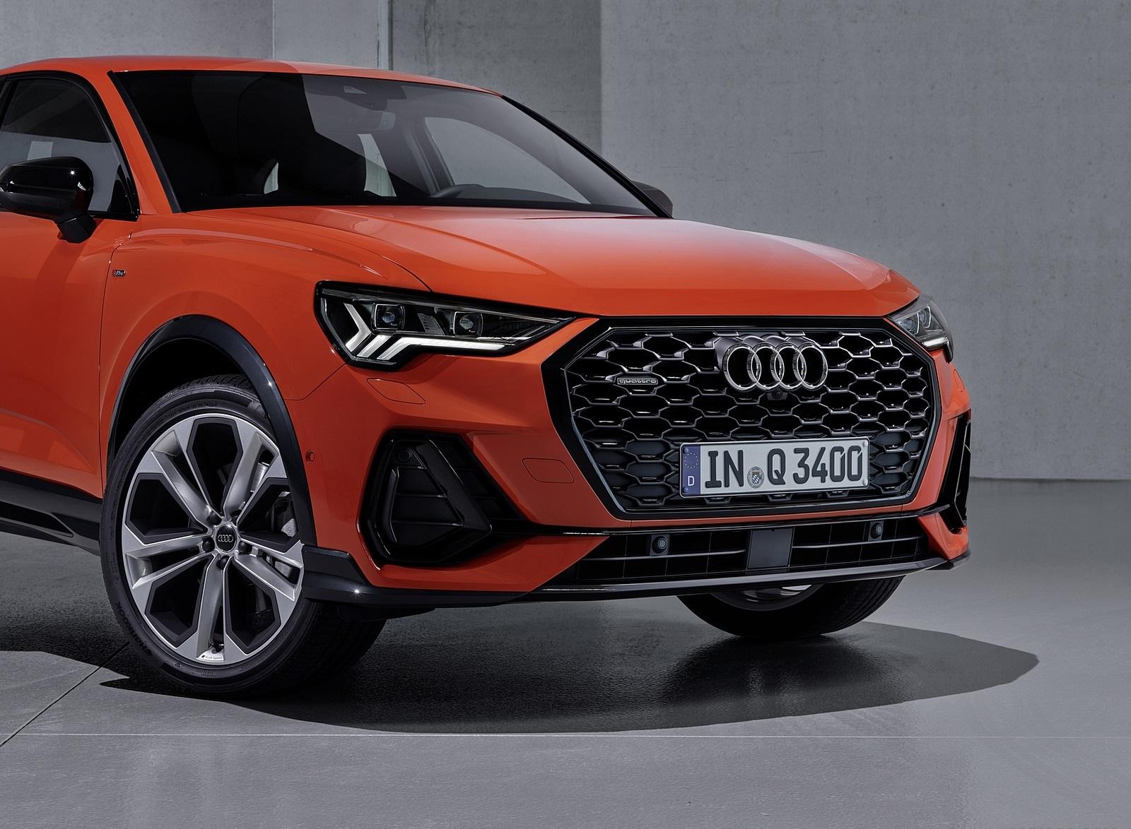 2020 Audi Q3 Sportback S line (Color: Pulse Orange) Front Wallpapers (15)