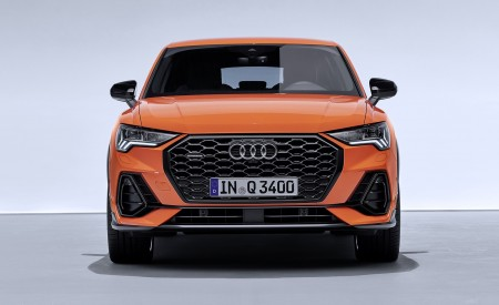 2020 Audi Q3 Sportback S line (Color: Pulse Orange) Front Wallpapers 450x275 (122)