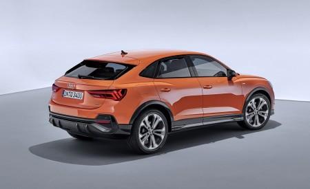 2020 Audi Q3 Sportback S line (Color: Pulse Orange) Rear Three-Quarter Wallpapers 450x275 (123)