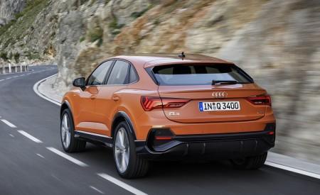 2020 Audi Q3 Sportback S line (Color: Pulse Orange) Rear Three-Quarter Wallpapers 450x275 (114)