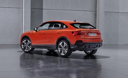 2020 Audi Q3 Sportback S line (Color: Pulse Orange) Rear Three-Quarter Wallpapers 450x275 (126)