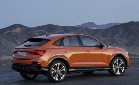 2020 Audi Q3 Sportback S line (Color: Pulse Orange) Rear Three-Quarter Wallpapers 450x275 (120)