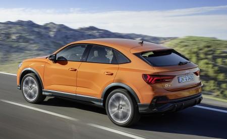 2020 Audi Q3 Sportback S line (Color: Pulse Orange) Rear Three-Quarter Wallpapers 450x275 (115)