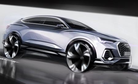2020 Audi Q3 Sportback S line Design Sketch Wallpapers 450x275 (173)