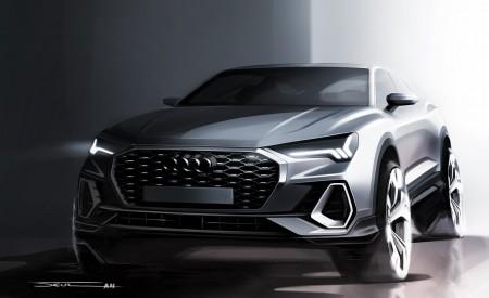 2020 Audi Q3 Sportback S line Design Sketch Wallpapers 450x275 (171)