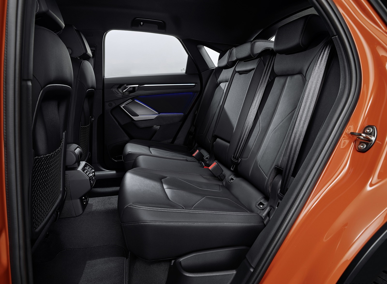 2020 Audi Q3 Sportback S Line Interior Rear Seats Wallpapers 131 Newcarcars