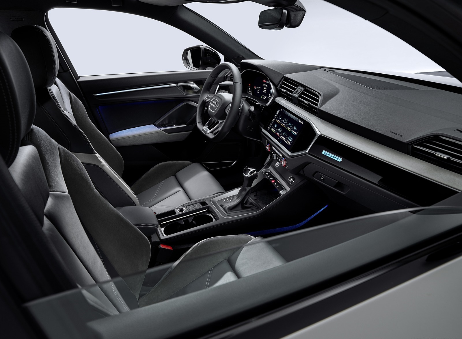 2020 Audi Q3 Sportback S Line Interior Wallpapers 169 Newcarcars