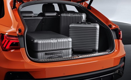 2020 Audi Q3 Sportback S line Trunk Wallpapers 450x275 (129)