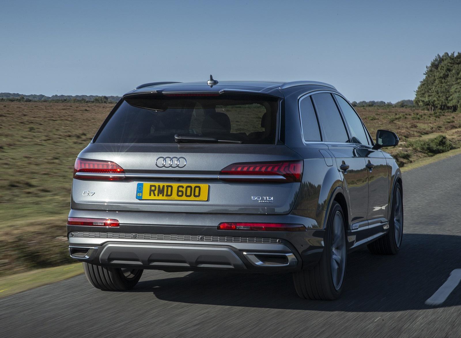 2020 Audi Q7 (UK-Spec) Rear Wallpapers (10)