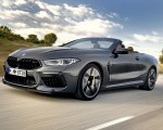 2020 BMW M8 Competition Convertible (Color: Brands Hatch Grey) Front Three-Quarter Wallpapers 150x120 (9)