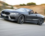 2020 BMW M8 Competition Convertible (Color: Brands Hatch Grey) Front Three-Quarter Wallpapers 150x120 (10)