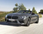 2020 BMW M8 Competition Convertible (Color: Brands Hatch Grey) Front Three-Quarter Wallpapers 150x120 (15)