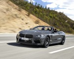 2020 BMW M8 Competition Convertible (Color: Brands Hatch Grey) Front Three-Quarter Wallpapers 150x120 (1)