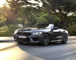 2020 BMW M8 Competition Convertible (Color: Brands Hatch Grey) Front Three-Quarter Wallpapers 150x120 (27)