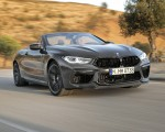 2020 BMW M8 Competition Convertible (Color: Brands Hatch Grey) Front Three-Quarter Wallpapers 150x120 (16)