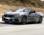 2020 BMW M8 Competition Convertible (Color: Brands Hatch Grey) Front Three-Quarter Wallpapers 150x120 (3)