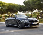 2020 BMW M8 Competition Convertible (Color: Brands Hatch Grey) Front Three-Quarter Wallpapers 150x120 (42)